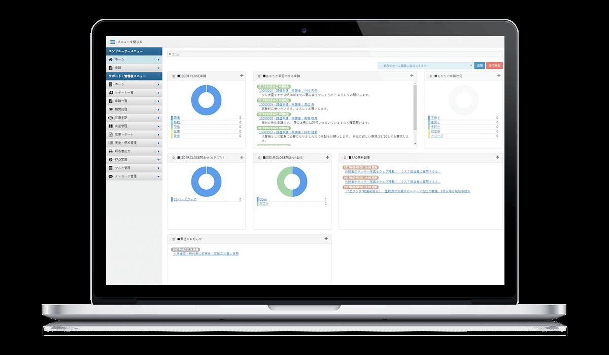 エージェントからの動的データをもとに、ライセンスの利用状況を収集管理